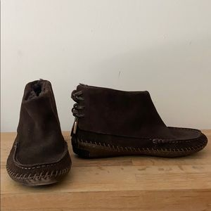 Tory Burch flat booties